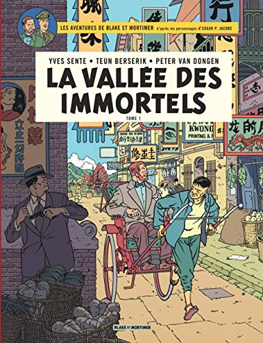 Blake & Mortimer - tome 25 - La Vallée des Immortels - Tome 1 - Menace sur Hong Kong