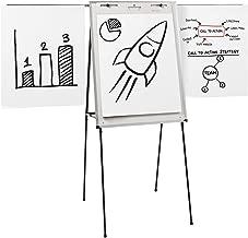 Quartet Easel, Dry-Erase, Steel, Dual-Purpose Writing Board/Flipchart, Total Erase, 29