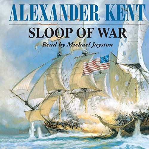 Sloop of War audiobook cover art