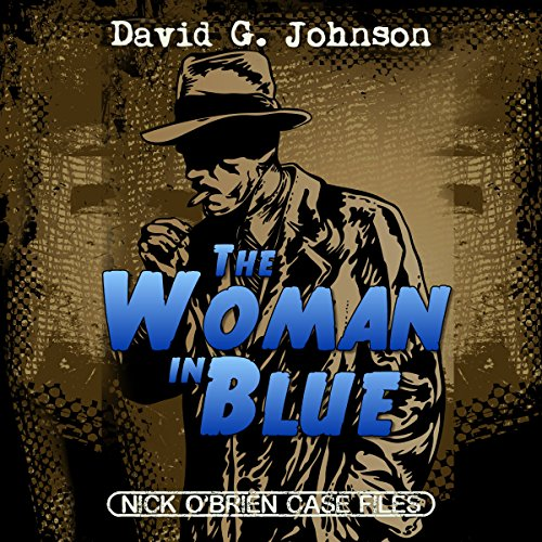 The Woman in Blue audiobook cover art