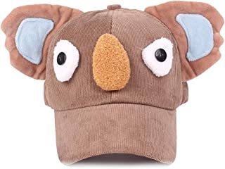 AMAZACER Baby Kid Boy Girl Warm Peaked Hat Baseball Visor Beret Cap (Color : Coffee)