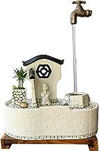 IndoorRelaxation - Fountain Waterfall نافورة المياه المنضدة، سطح المكتب نوافير المياه الصغيرة نافورة الشلال الداخلي - للدي...