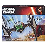 Star Wars Hasbro The Force Awakens – Tie Fighter des Forces Spéciales du Premier Ordre – Vaisseau & Figurine Pilote 9,50 cm