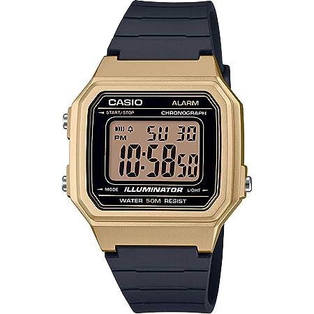 CASIO W-217HM - Reloj Digital de Cuarzo para Hombre con Correa de Resina