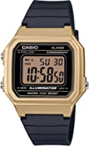Casio Men's Digital Quartz Watch with Resin Strap W-217HM-9AVEF