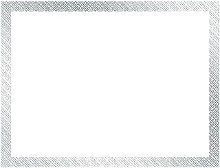 优质纸张! 编织铝箔证书,21.59 x 27.94 厘米,12 片( 15 count 银色