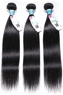 Peruvian Straight Hair 3 Bundles 14