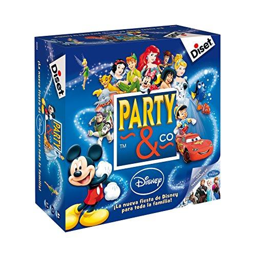 Diset- Party & Co Disney - Juego de mesa familiar a partir de 4 años