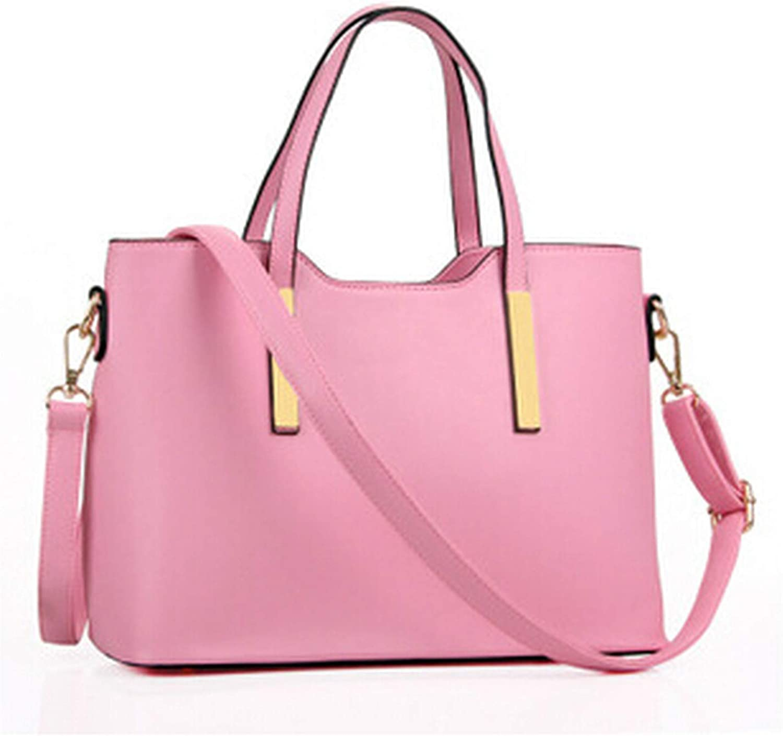 100% leather Women 2018 new bags female stereotypes fashion handbag Handbag,Pink