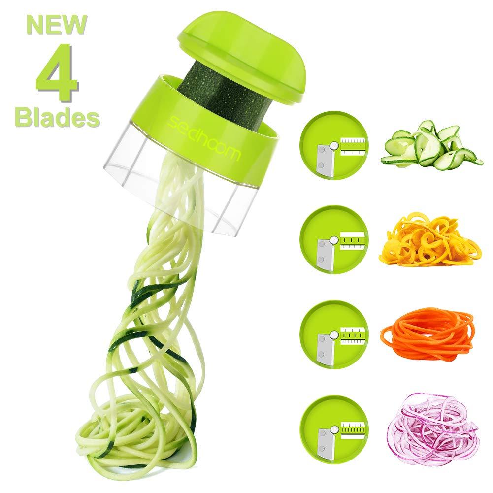 Sedhoom Handheld Spiralizer Vegetable Spaghetti