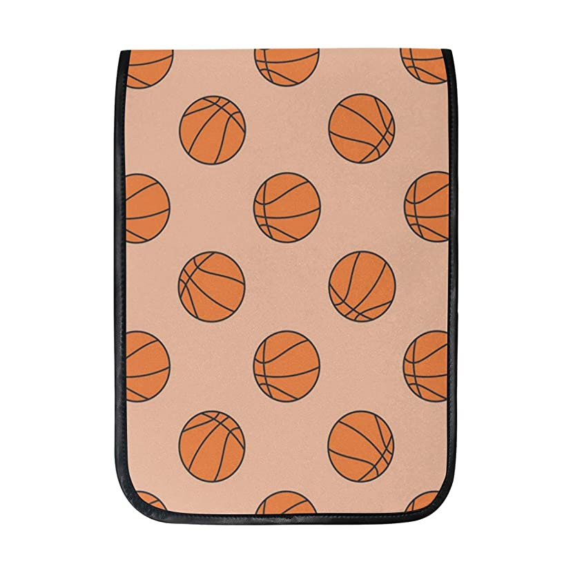 12 Inch Ipad IPad Pro Laptop Sleeve Canvas Notebook Tablet Pouch Cover for Homeschool, Travel, Etc Basketball Hoop Hamper