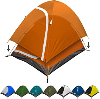 REVALCAMP 3-in-1 Camping Tent - Waterproof & Windproof 4 Season Tents for Camping, Backpacking & Hiking - Ultralight & Dur...