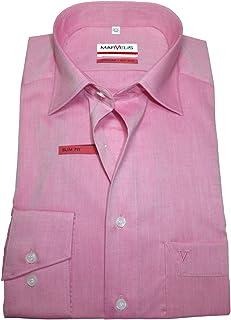 Twill Slim Fit Shirt Peaky Blinders Style Collo senza colletto//nonno