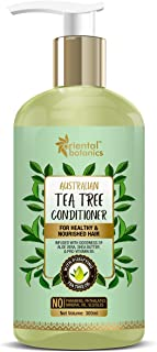 Oriental Botanics Australian Tea Tree Hair Conditioner - With Aloe Vera, Shea Butter - For Healthy And Nourished Hair - No...