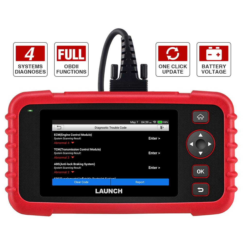 LAUNCH Code Reader Transmission Touchscreen