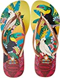 Havaianas Slim Tropical, Sandali Donna, Giallo (Lemon Yellow), 33/34
