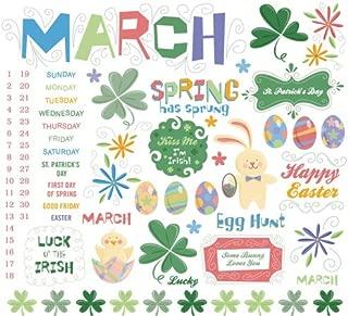Calendar Rub-ons 8