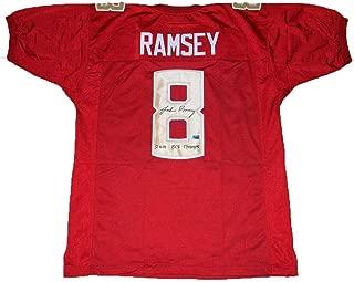Jalen Ramsey Autographed Jersey - #8 W Bcs Champs - Autographed College Jerseys