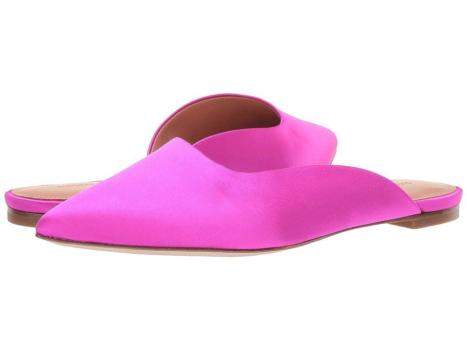 Sigerson Morrison Sheryl Flat Mule (Pink Satin) Women