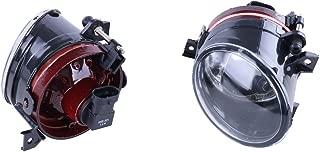 Jade Onlines Front Bumper Convex Lens Fog Light Lamps for VW Jetta 5 Golf 5 Gti Mk5