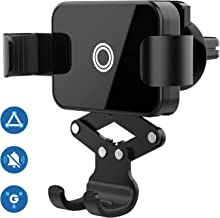 Bestocar C8 Car Phone Mount, Hands Free Gravity Car Phone Holder, Air Vent Mount Cell Phone Holder Compatible with Most Smartphones (Case Friendly)