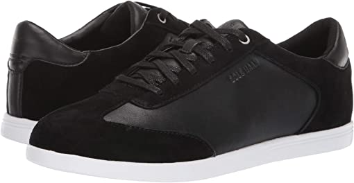 Black Leather/Suede/Optic White