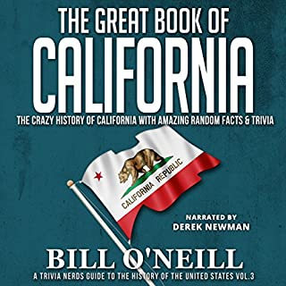 The Great Book of California audiobook cover art