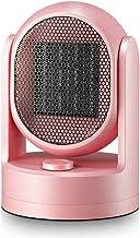 Calefactor De Aire Caliente,Calefactor Bajo Consumo,PTC Elemento De Cerámica Calentador Rápido (Color : Pink)