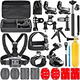 Navitech 18 in 1 Action Camera Accessories Combo Kit with EVA Case Compatible with The Garmin VIRB Ultra 30