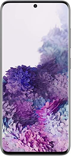 Samsung Galaxy S20 5G Unlocked Android Smartphone SM-G981U US Version | Fingerprint ID & Facial Recognition | Long-Lasting Battery (Cosmic Gray, 128GB) (Renewed)