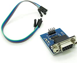 RS232 Serial Port to TTL Converter Module for Equipment Upgrades Like DVD With 4 20CM Doupont Cables