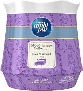 Ambi Pur Gel Fresh Air Freshener, Relax and Unwind, 180g