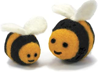 Dimensions Needlecrafts Round and Wooly Bees Needle Felting Kit