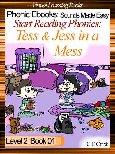 Start Reading Phonics 2.01 (ss) Tess and Jess in a Mess (Childrens Learning To Read Picture Book) (English Edition)