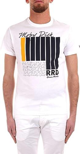 Luxury mode   Rrd Homme 19130909 Blanc T-Shirt   Printemps été 19