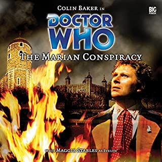 Doctor Who - The Marian Conspiracy                   By:                                                                                                                                 Jacqueline Rayner                               Narrated by:                                                                                                                                 Colin Baker,                                                                                        Maggie Stables                      Length: 1 hr and 55 mins     2 ratings     Overall 4.5