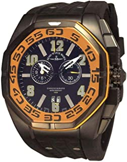Zeno Watch Basel - Zeno-Watch 4541-5020Q-a19 Neptun 5 Chrono Big Date Yellow - Reloj de pulsera para hombre