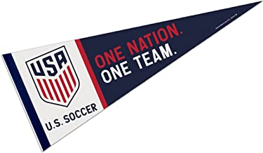 WinCraft US Soccer One Nation One Team Pennant and Banner