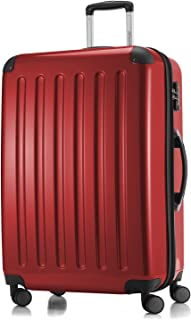 """Hauptstadtkoffer Alex Luggage Suitcase Hardside Spinner Trolley Expandable 28"""" TSA, Red, 75 Centimeters"""