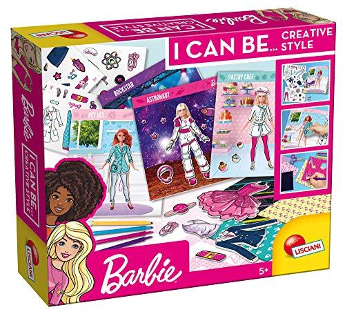 Lisciani Giochi- Barbie Scuola di Moda Le Carriere Gioco Creativo, Multicolore, 81141
