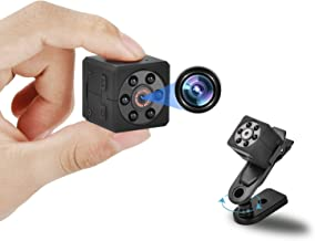 Hidden Camera 1080P HD, Mini Camera with Night Vision and Motion Detection, Nanny Camera with Video and Loop Recording, Se...
