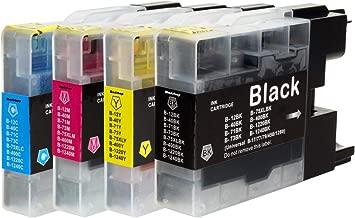 LC12 (BK/C/M/Y)【4色セット】ブラザー用互換インクカートリッジ 残量表示対応ICチップ WEB説明書【らくとく一年保証】Morishop製
