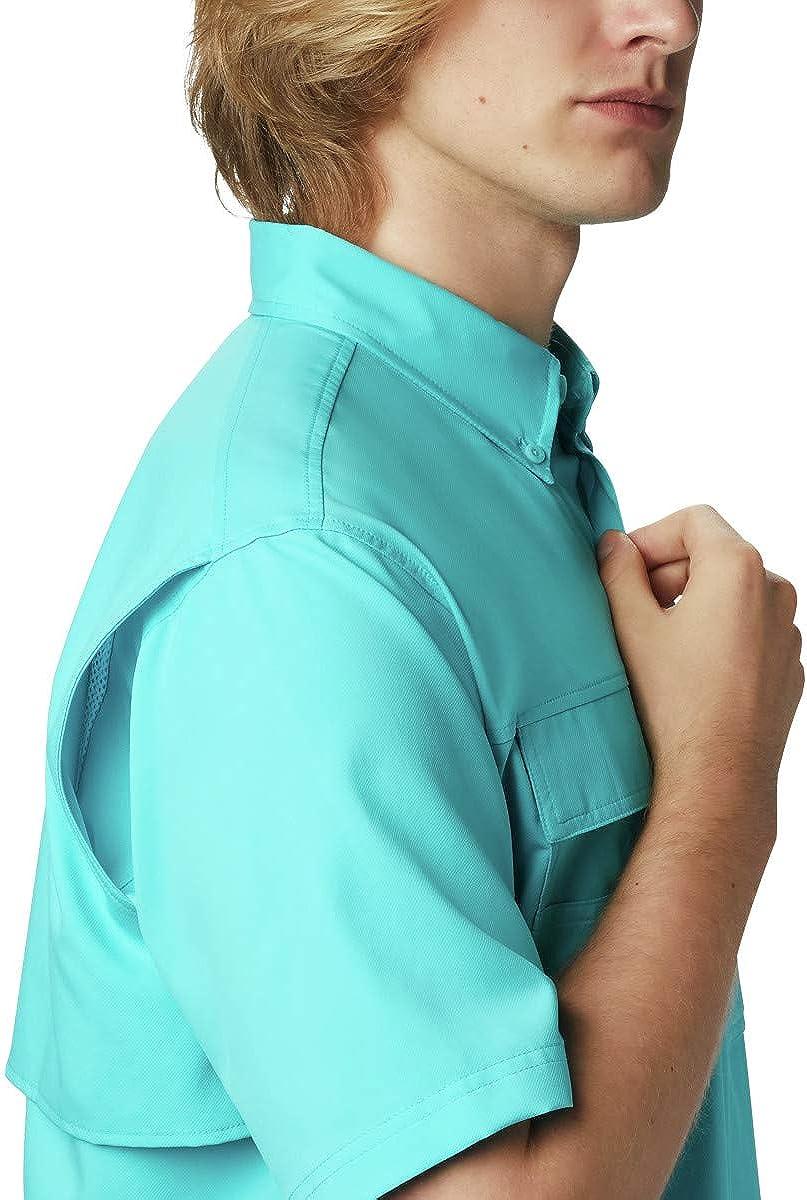 Columbia Men's Tall Blood and Guts III Short Sleeve Woven