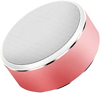 TDCQQ Bluetooth Speaker,Portable Wireless Mini Outdoor Rechargeable Speakers,Stereo Sound,Enhanced Bass,Built-in Mic for Phone,Tablet,TV,Gift Ideas