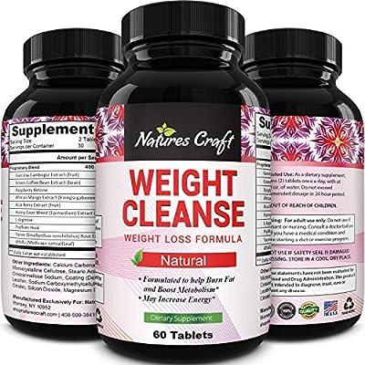 Garcinia Cambogia Weight Loss Supplement with Pure Green Tea + Green Coffee Bean + Raspbery Ketones - Diet Pills for Women & Men - Natural Carb Blocker Fat Burner Appetite Suppressant - Biogreen Labs