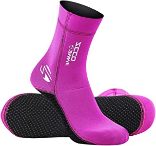 Neoprene Socks Diving Scuba Socks Wetsuit Fin Booties for Men Women Kids, 3MM 5MM Surfing Booties Beach Sock Thermal Flexible Anti Slip for Rafting Snorkeling Swimming Wading Sailing