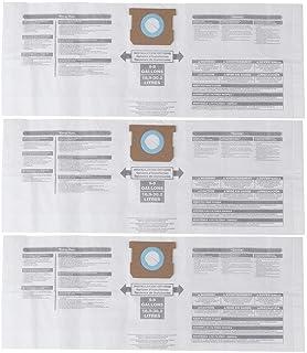 AUNMAS Accessoire de Remplacement pour Sac collecteur de poussière d'aspirateur pour Shop-Vac 90661 906-61, Paquet de 3