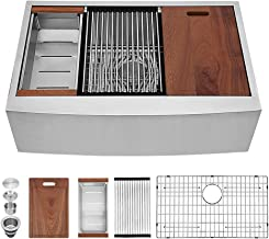 Best stainless steel farmhouse sinks Reviews