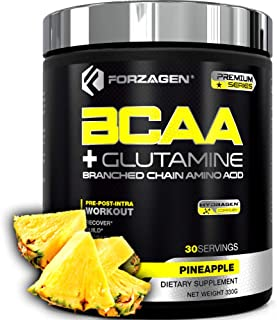 Forzagen Bcaa Powder + Glutamine - Bcaa Amino Acids With Electrolytes Keto Friendly And Essential Amino Acids Supplements ...