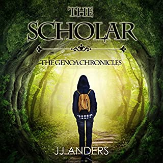The Scholar audiobook cover art